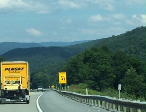 Traveling through the Appalachians